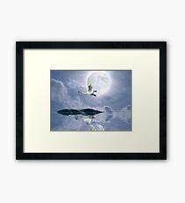 """Wilderness Moon"" Framed Print"