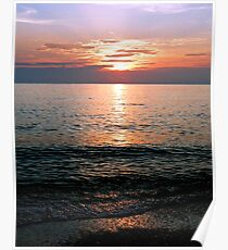 The Flordia Sunset Poster