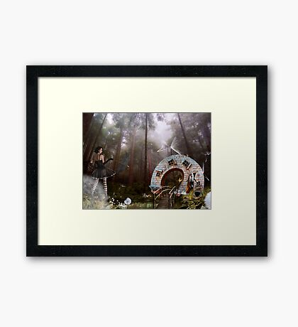 My Sista is a witch Framed Print