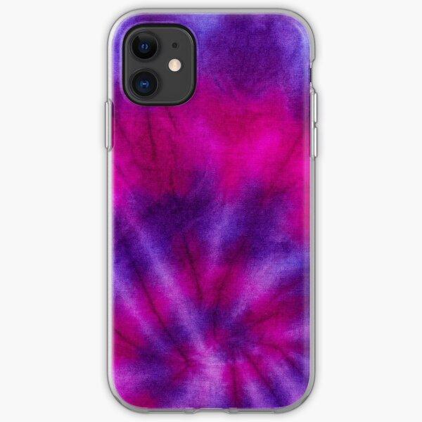 Aura Tie Dye iPhone Soft Case