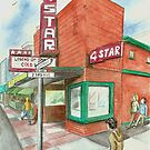 """4-Star Theatre"" by Robin Galante by Robin Galante"