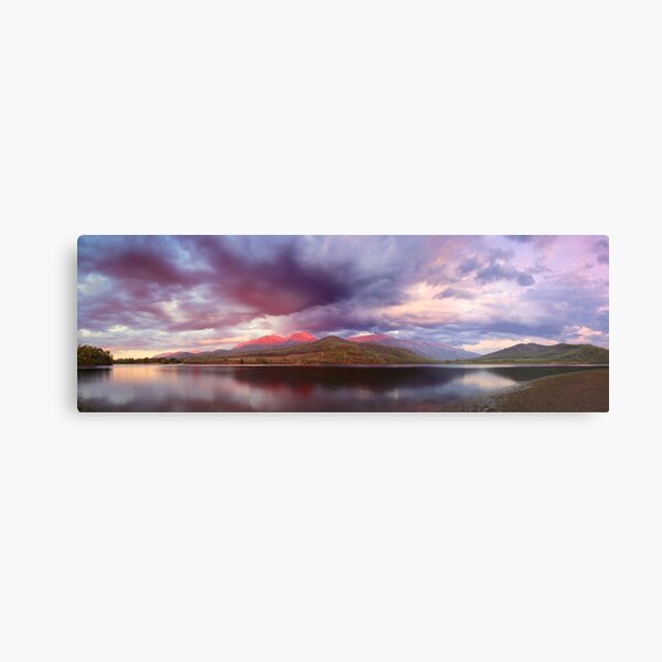 Lake Buffalo Twilight, Victoria, Australia Metal Print