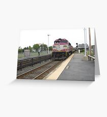 1124 MBTA Commuter Rail Greeting Card