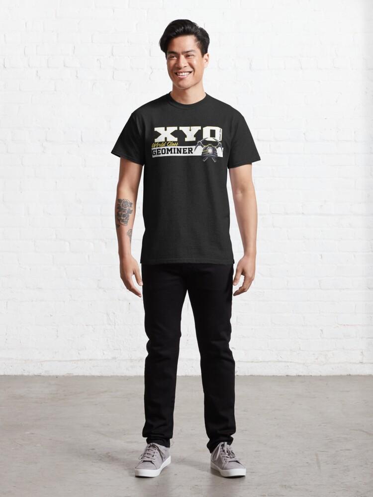 Alternate view of XYO World Class Geominer Design Classic T-Shirt