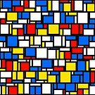 Mondrian Style by KaleiopeStudio