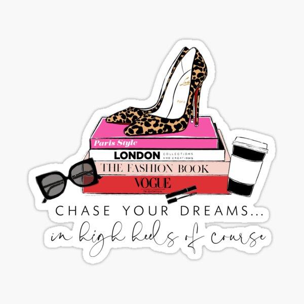 fashion heels Sticker