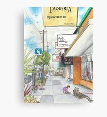 Neighborhood Portrait: Balboa between 35th & 36th Aves Canvas Print