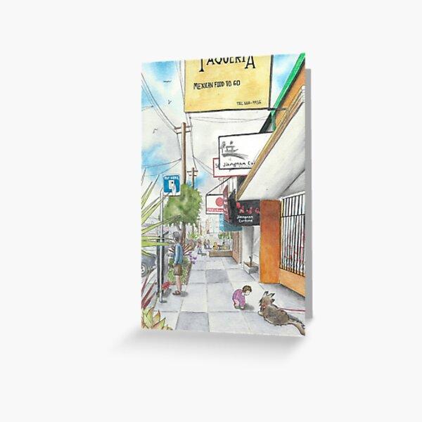 Neighborhood Portrait: Balboa between 35th & 36th Aves Greeting Card