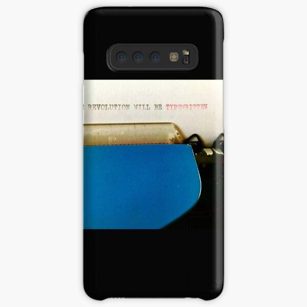 The Revolution Will Be Typewritten (lifeanalog.com) Samsung Galaxy Snap Case