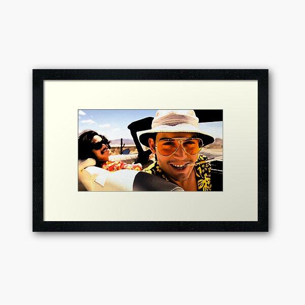 Fear and Loathing in Las Vegas - Art Framed Art Print