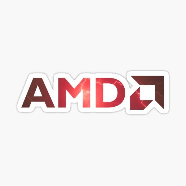 AMD Logo Sticker