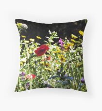 Wild Flowers - Iron Bridge Throw Pillow