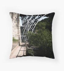 Iron Bridge - Telford Throw Pillow