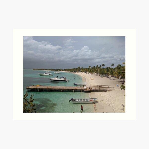 Isla Catalina, Dominican Republic Art Print