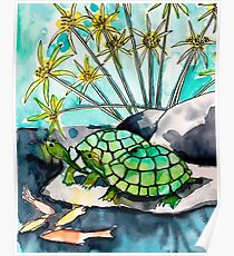 Turtle Lounge Poster