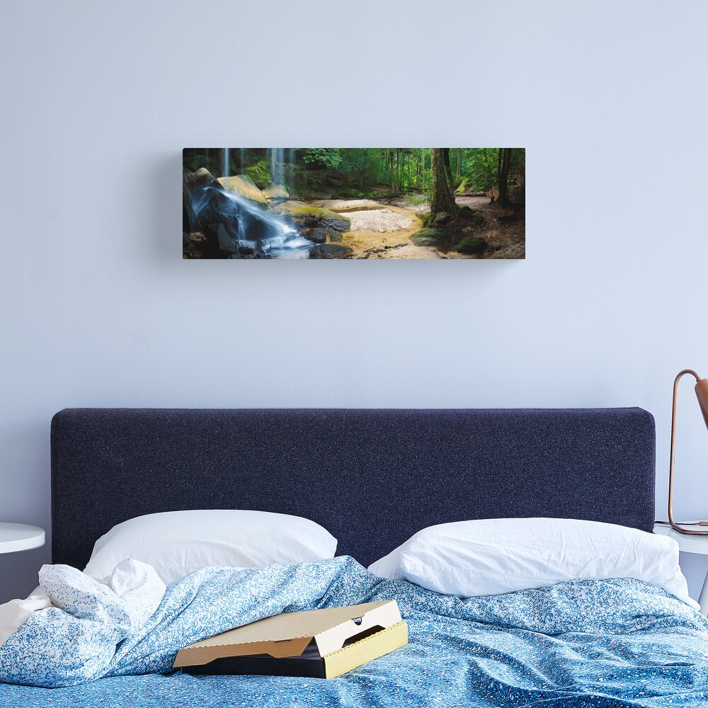 Oakland Falls, Hazelbrook, New South Wales, Australia Canvas Print