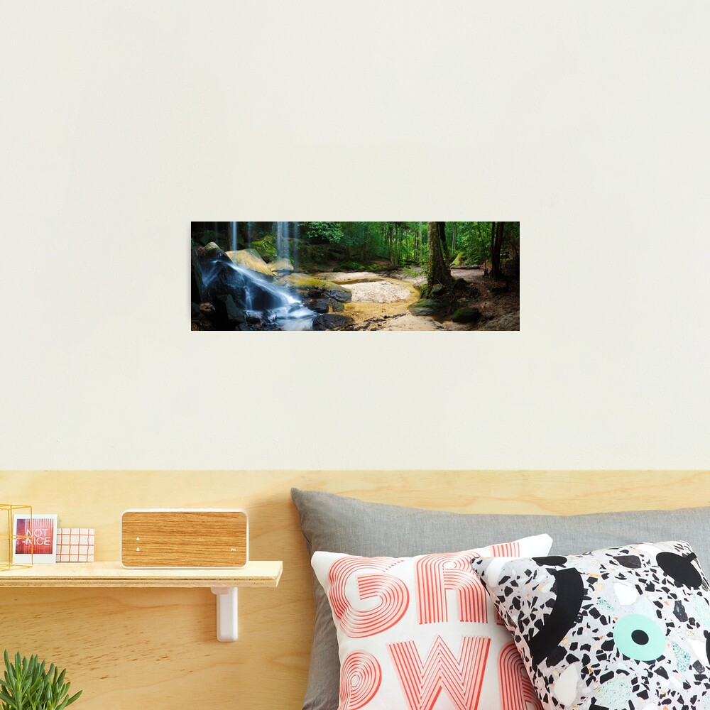 Oakland Falls, Hazelbrook, New South Wales, Australia Photographic Print