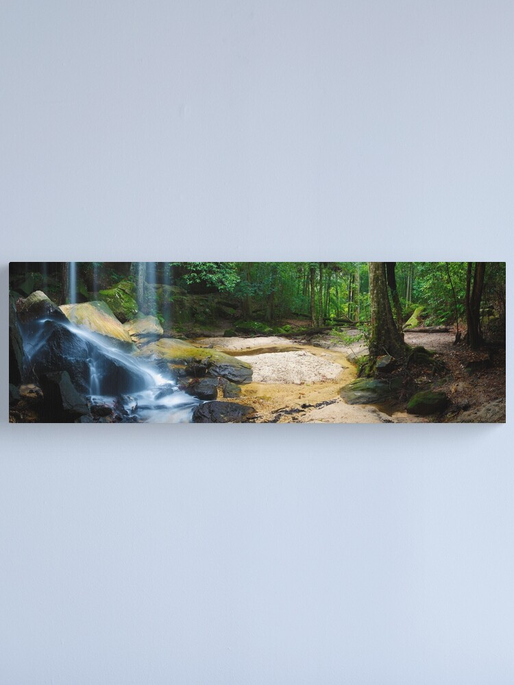 Alternate view of Oakland Falls, Hazelbrook, New South Wales, Australia Canvas Print