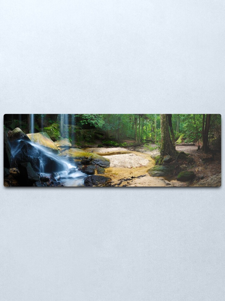 Alternate view of Oakland Falls, Hazelbrook, New South Wales, Australia Metal Print