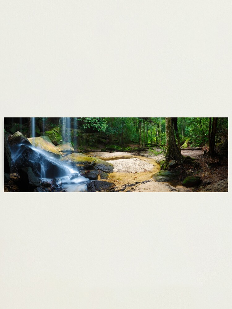 Alternate view of Oakland Falls, Hazelbrook, New South Wales, Australia Photographic Print