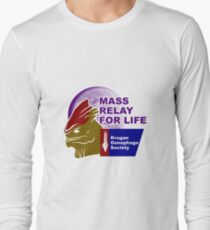 Mass Relay for Life - Genophage Awareness Long Sleeve T-Shirt