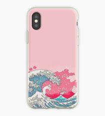 Rosa blasse Wellen - Iphone u. Galaxie-Hüllen iPhone-Hülle & Cover