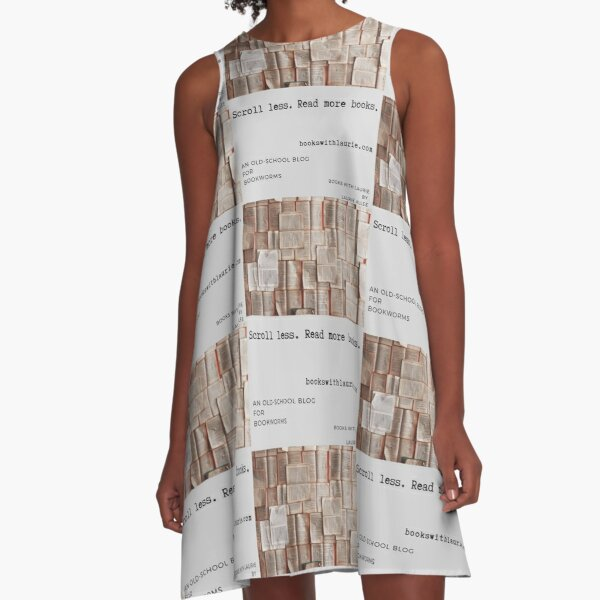 Books With Laurie (bookswithlaurie.com) A-Line Dress