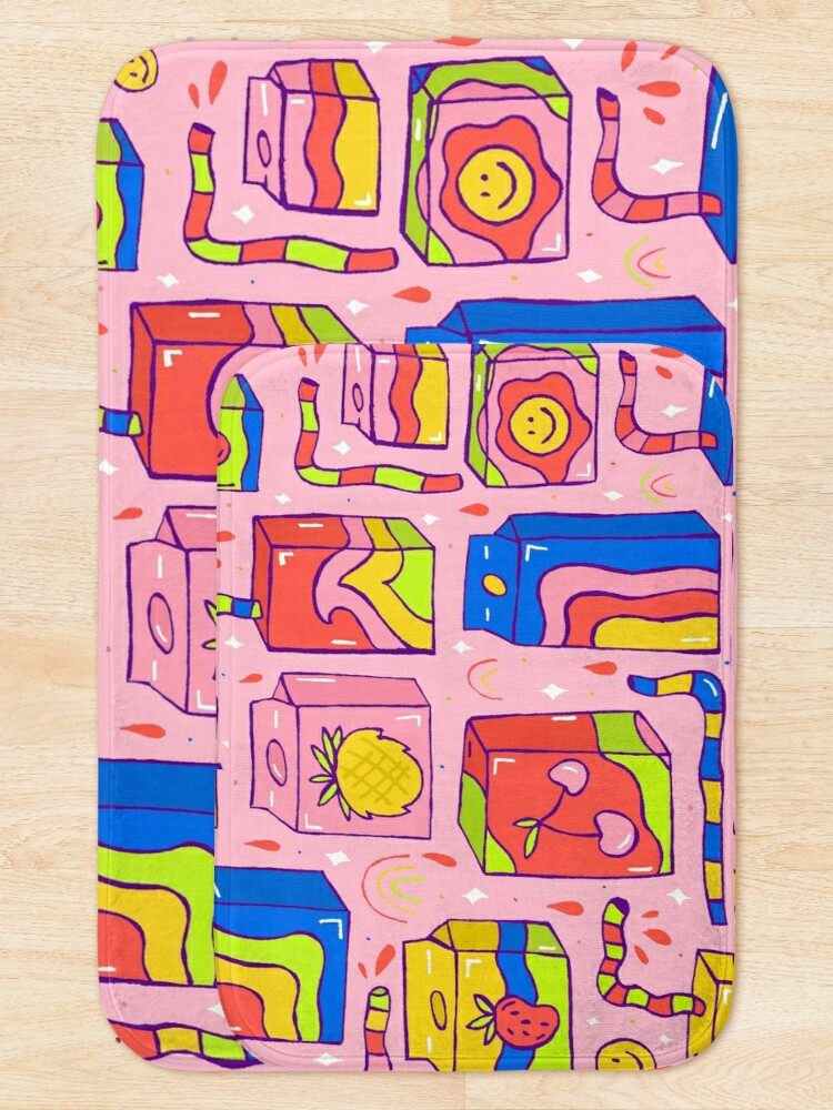 Alternate view of Juice Box Print Bath Mat