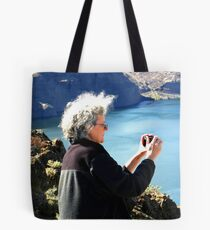 Mom at Vantage Tote Bag