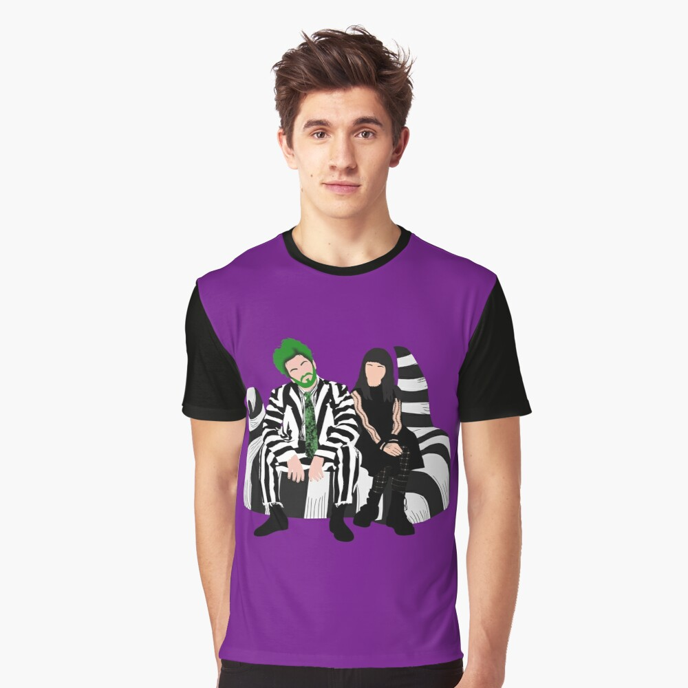 Beetlejuice And Lydia Beetlejuice The Musical T Shirt By Dgdoesart Redbubble