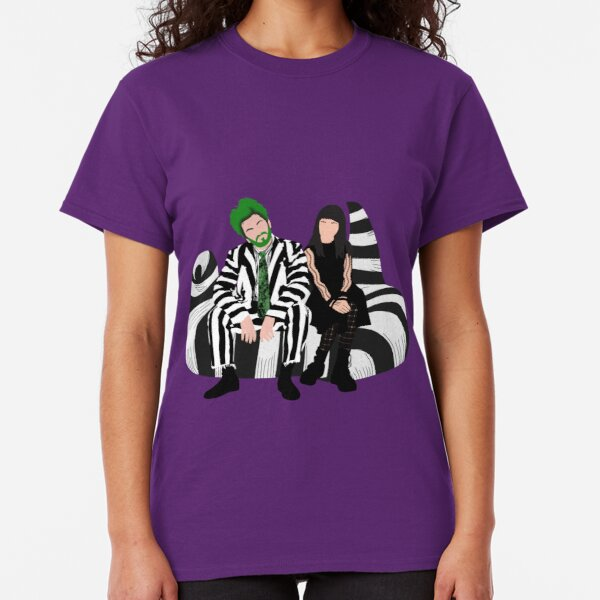 Beetlejuice and Lydia- Beetlejuice the Musical Classic T-Shirt