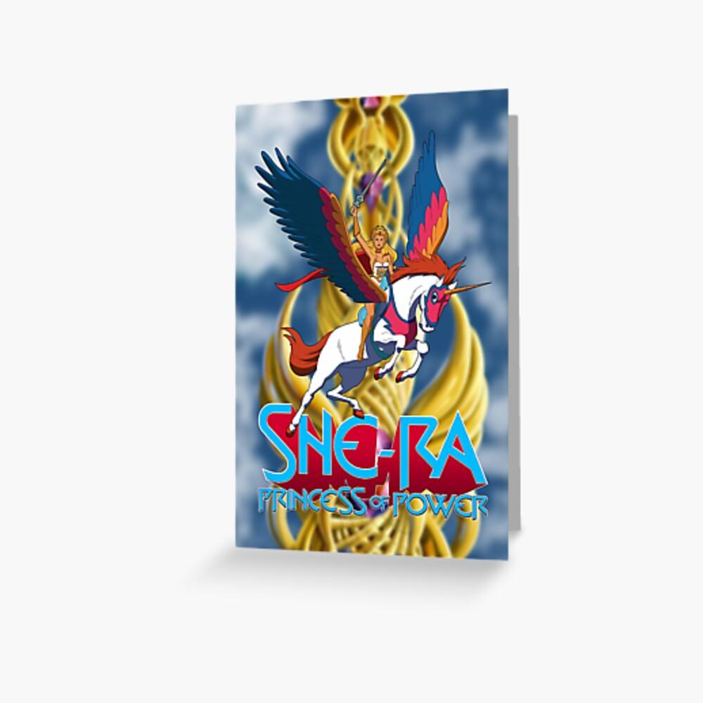 She-Ra Princess Of Power Greeting Card