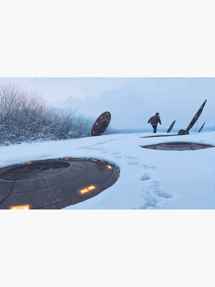 Warm Hatches, Opening Up by simonstalenhag