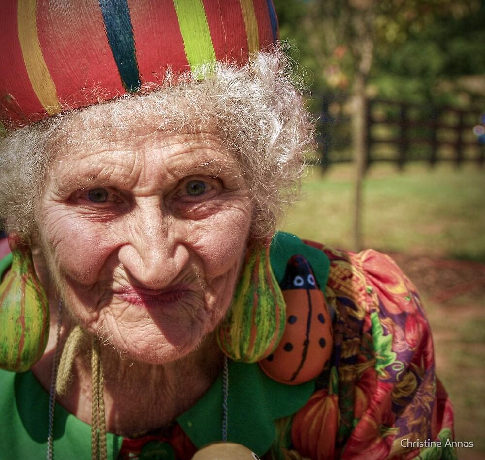 The Gourd Lady by Christine Annas