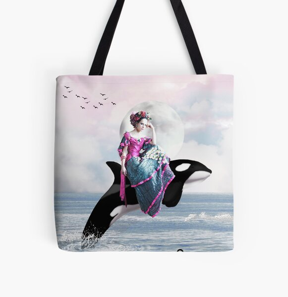 Hitching A Ride All Over Print Tote Bag