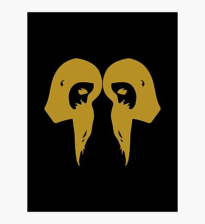 Gemini - Zodiac Symbols Photographic Print