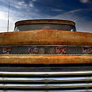 Textured Ford Truck 2 by Thomas Young