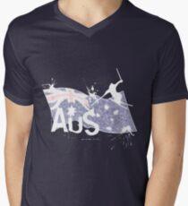Aus Ski Men's V-Neck T-Shirt