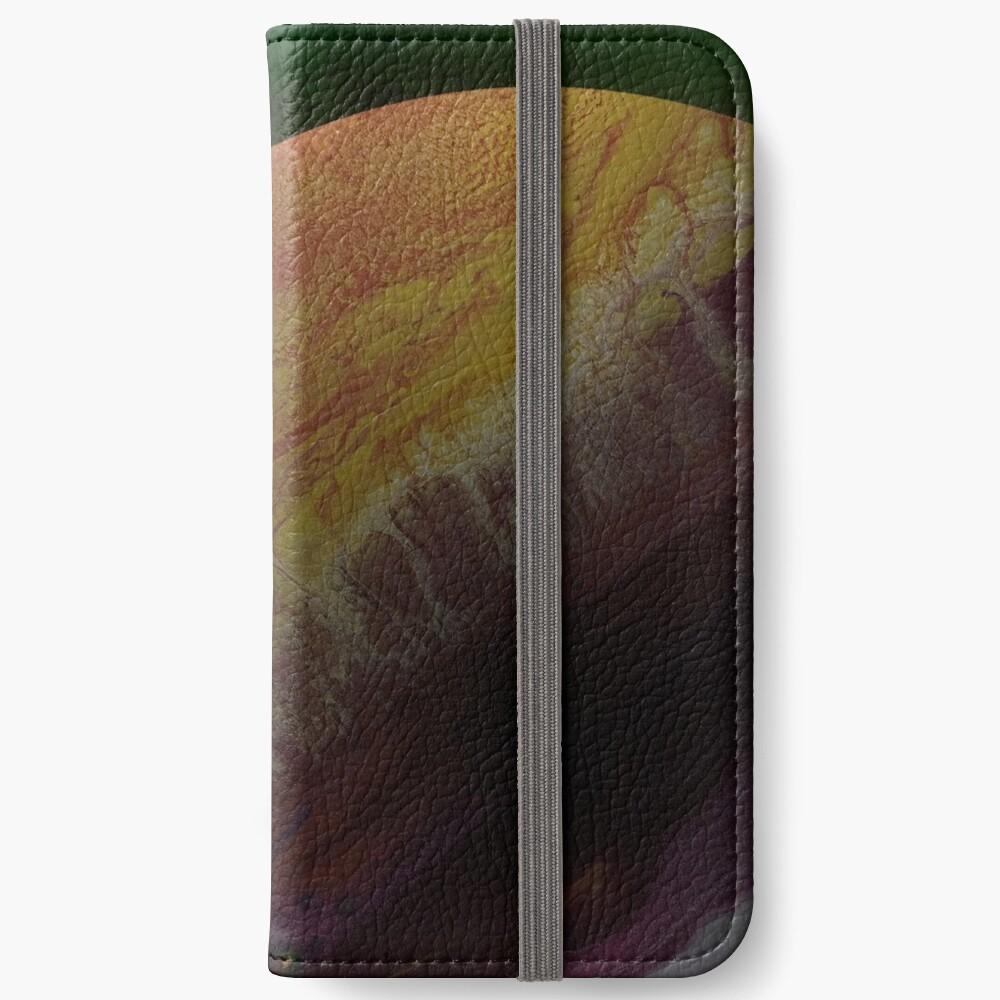 Axial Tilt: planet art iPhone Wallet
