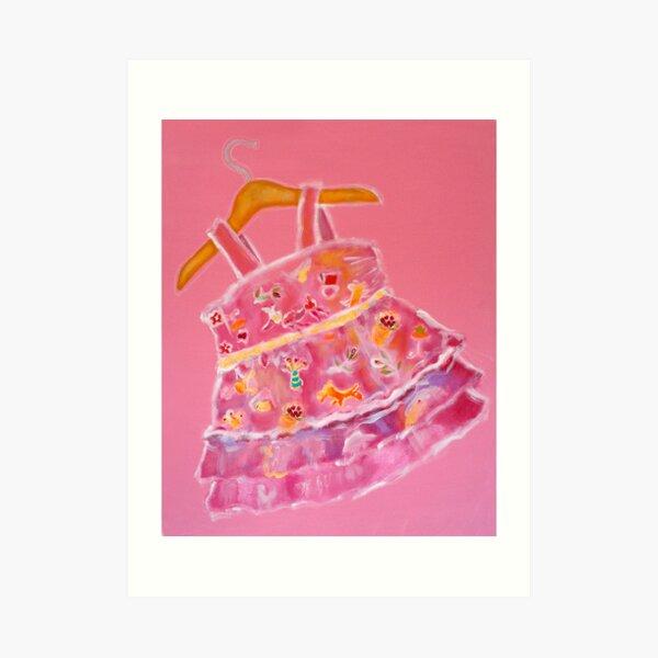 LPD: Little Pink Dress Art Print