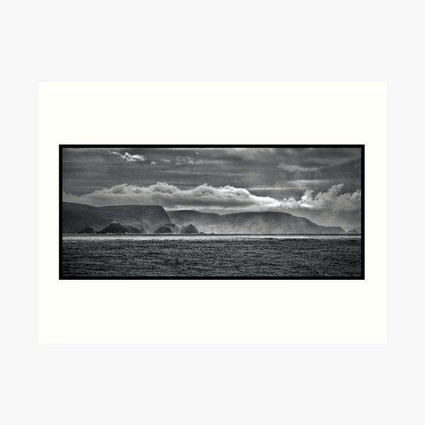 At the End of the World, Art Print
