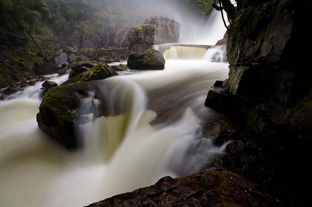 Below Fergusson Falls by Michael Gay