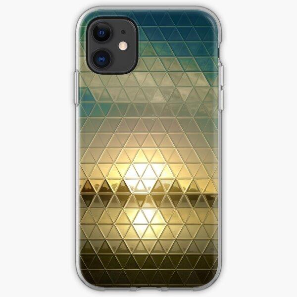 Tri-glass Horizon Sun iPhone Soft Case