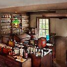 Pharmacy - Where I make medicine  by Michael Savad