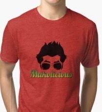 Makolicious (White) Tri-blend T-Shirt