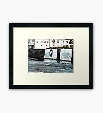 Che Guevara At Kilkee Ireland Framed Print