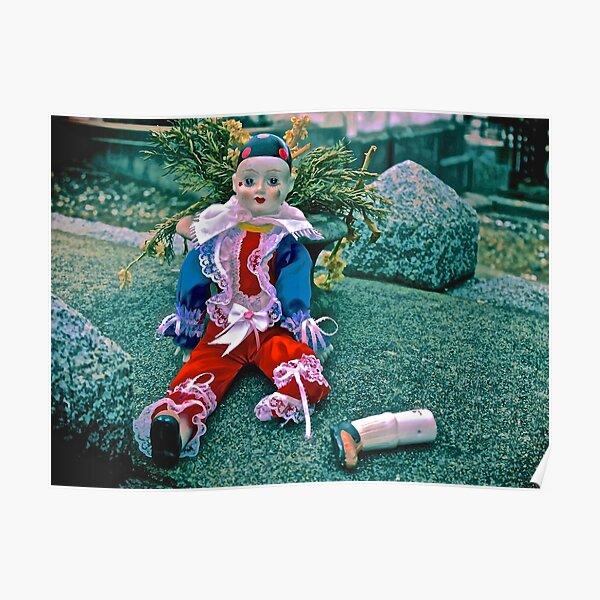 Sad Clown Loose Limbs Poster