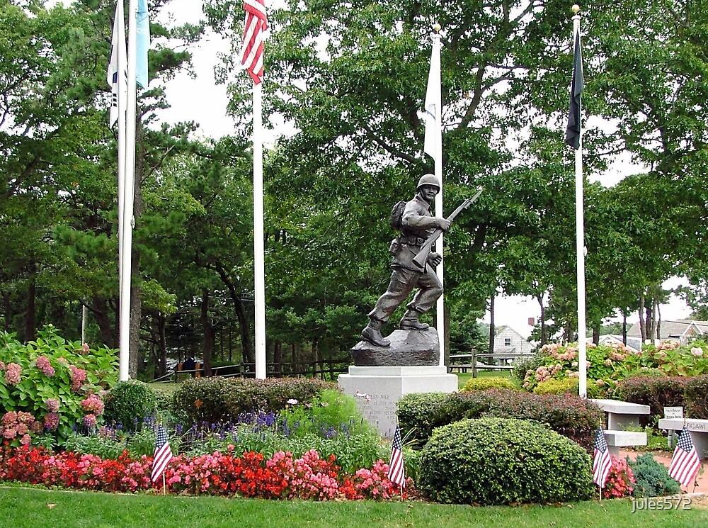 The Korean War Memorial  by jules572
