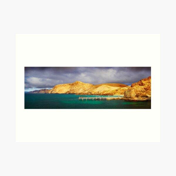 Second Valley, Fleurieu Peninsula, South Australia Art Print