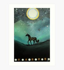 Unicorn Believe In Magic Art Print